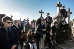 Carlos Garrido y el público (Foto: Tolo Ramon)