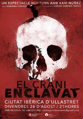 Cartel de 'El crani enclavat'