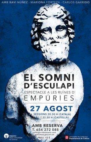Cartel de 'El somni d'Esculapi'