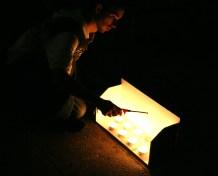 Adri Ferrà enciende las velas