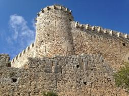 Imponente imagen del castillo