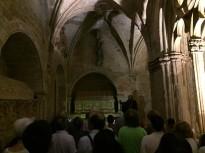 El públic escolta Jaume I