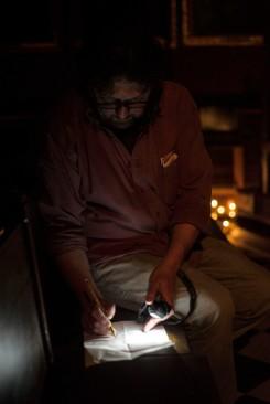Dominic Hull dirige la iluminación del espectáculo