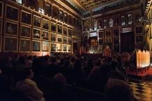 El público en el Salón de Plenos de Cort