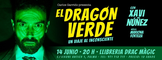 el dragon verde banner